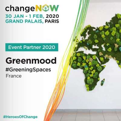 Greenmood at the 2020 ChangeNOW summit, Paris