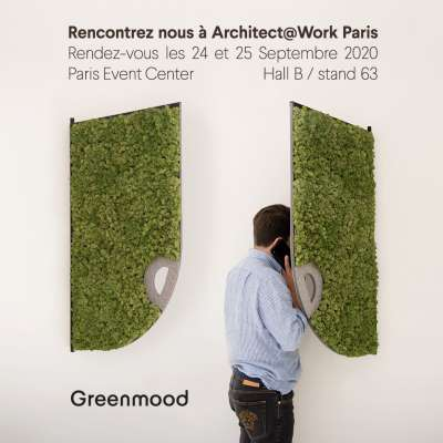 Greenmood at Architect@Work, Paris 2020